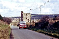 Grenville 773 PRL - 1230hrs Redruth to Troon c1982 (return2layerroad) Tags: grenvillemotors redruth troon bedfordsb5 duplemidland 773prl cornwall