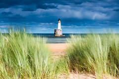 Blustery at Rattray (Stoates-Findhorn) Tags: 2017 aberdeenshire beach buchan head lighthouse marram north rattray scotland sea bay unitedkingdom