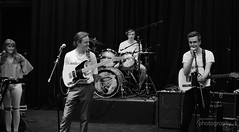 Gig Night At The Limelight - June 2017 (mrpauladams) Tags: livemusic band bands music theatre rock pop soul funk indie man woman male female sexy hot bum black white mono monochrome aylesbury queens park arts stage guitar guitars drums keys piano keyboard smoking smoke cigarettes break indoors outdoors colour drinking drink relax audiences onlookers tony goff broken colours blushes fit beautiful bass girls guys boys sound desk play paul adams