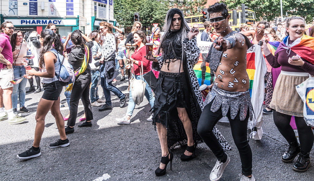 LGBTQ+ PRIDE PARADE 2017 [ON THE WAY FROM STEPHENS GREEN TO SMITHFIELD]-130151