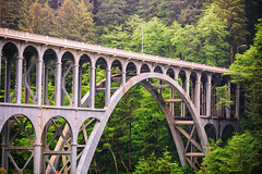 Cape Creek Bridge (Thomas Hawk) Tags: america capecreekbridge hecetahead oregon oregoncoast usa unitedstates unitedstatesofamerica bridge florence us fav10 fav25 fav50 fav100