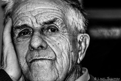 Taid (lowribearmanphotography) Tags: blackandwhite family portrait taid age old grandfather