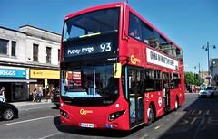 London General MHV31 on route 93 Wimbledon 08/07/17. (Ledlon89) Tags: london bus bsues tfl transport londonbus londonbuses goaheadlondon londongeneral wimbledon tennis londontransport