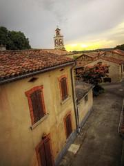Village (hibou75) Tags: village maisons ciel coucher de soleil campagne lauragais pittoresque