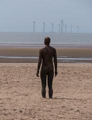 P1020418p (Gareth's Pix) Tags: crosby beach crosbybeach sculpture anotherplace antonygormley gormley merseyside