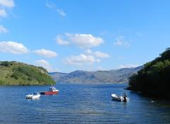 Loch Morar, Lochaber, May 2017 (allanmaciver) Tags: loch morar boats clouds weather may lochaber west highlands scotland scenery admire enjoy delight allanmaciver shades blue