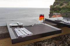 Dinner mit Meeresblick