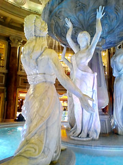 Japan Trip 2017 (doctor pedro) Tags: japan tokyo odaiba fountain water indoor statue shopping venus fort