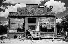 Mt. Union Iowa (L. Paul) Tags: pentaxk1000 pentax28mmf28 28mm blackandwhitefilm film filmshooter ishootfilm kodakmax400 orangefilter circularpolarizer
