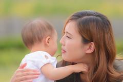 Mother (Hi ro ki) Tags: nikon mother japan 300mm f4 d810 aichi ニコン 日本 愛知 母 baby 子供