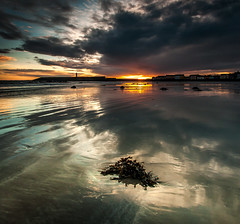 Slow Motion Explosion   [Explored] (RonnieLMills) Tags: donaghadee harbour lighthouse sunrise early morning dawn dark clouds explore explored 1717 21
