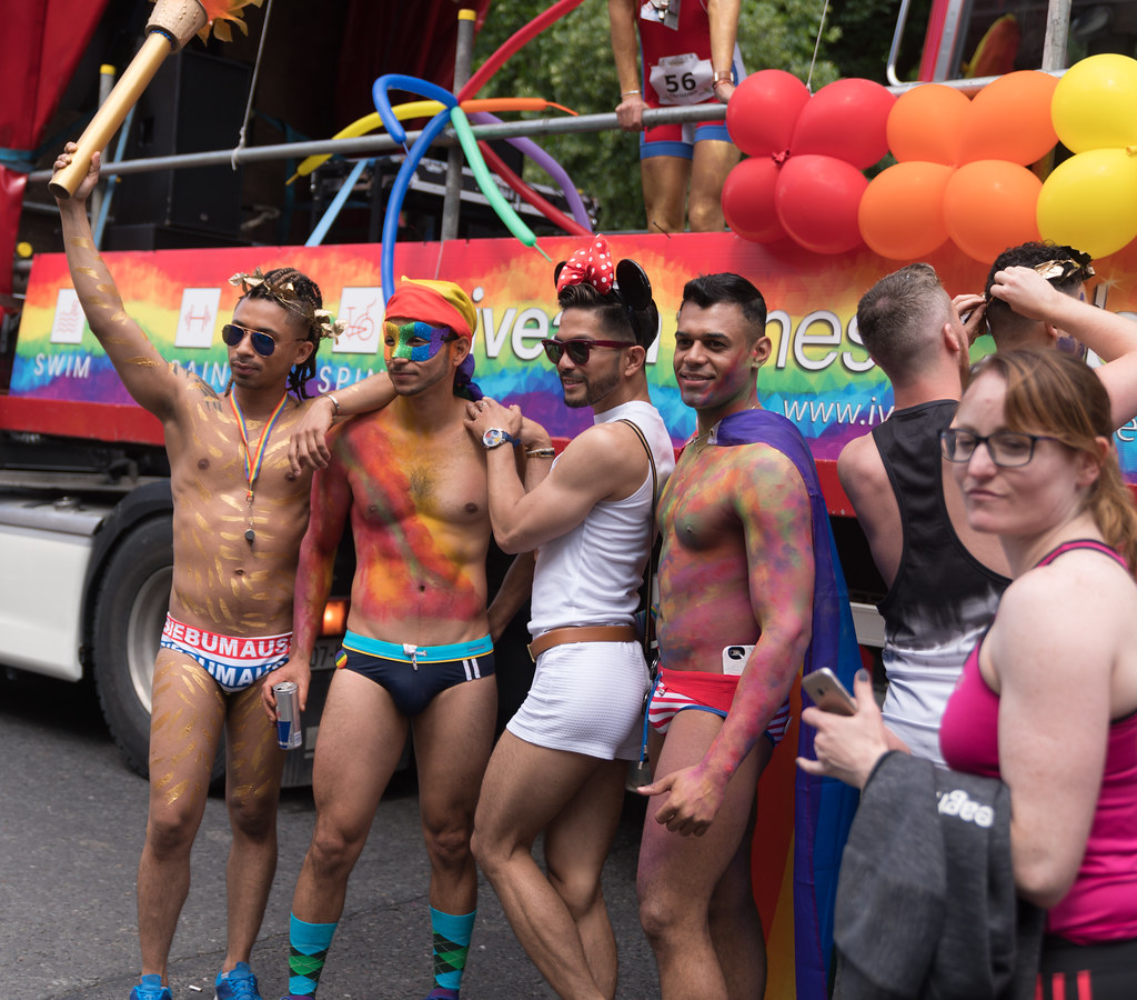 LGBTQ+ PRIDE PARADE 2017 [STEPHENS GREEN BEFORE THE ACTUAL PARADE]-129844