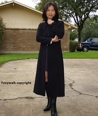 Black (Foxywalk) Tags: asian chinese boots skirt heel black kneehigh lady portrait 人像 靴 黑高跟靴 黑靴 高跟靴 皮靴 長靴 直筒长靴 裙