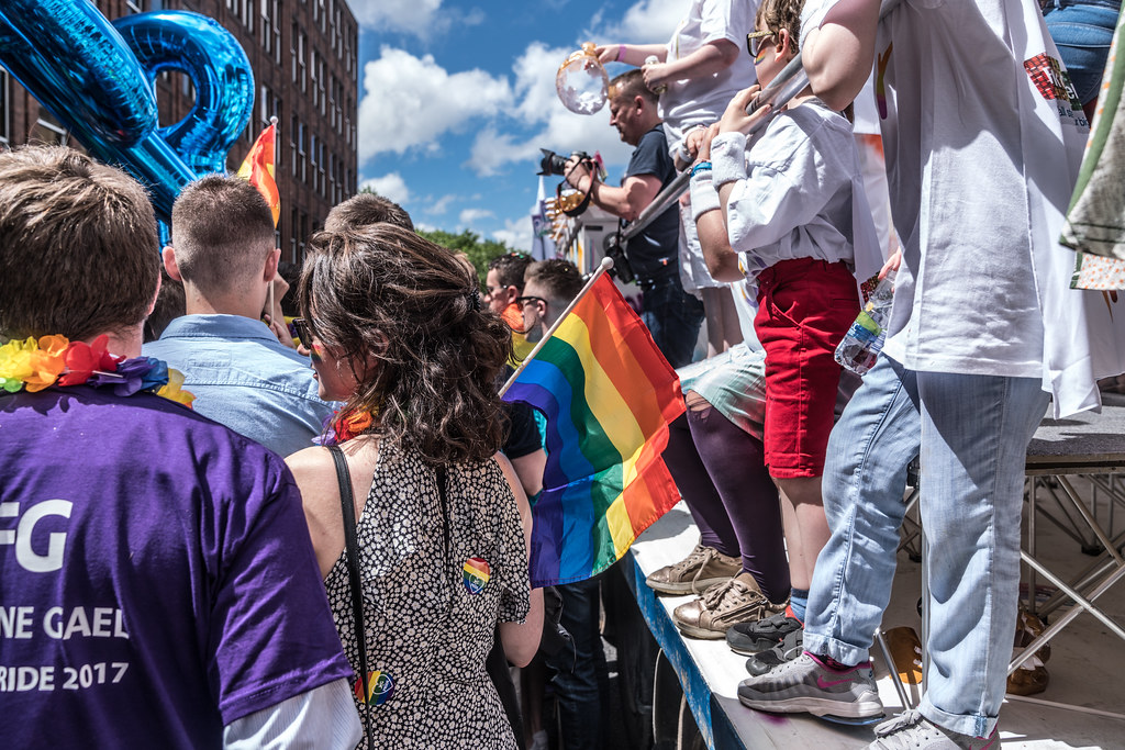 LGBTQ+ PRIDE PARADE 2017 [STEPHENS GREEN BEFORE THE ACTUAL PARADE]-129962