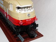 DB BR 103 (Dr Snotson) Tags: lego moc train eisenbahn db br 103