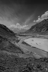 Shigar Valley (faridisaad) Tags: pakistan gilgit baltistan shigar skardu valley river nikon d7200 monochrome