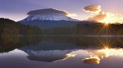 Sunrise at Mt Shasta (Mt Shasta, CA) (Sveta Imnadze) Tags: nature landscape mtshasta sunrise ca siskiyoulake reflection colors
