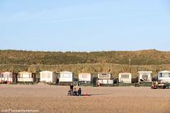 Dutch summer cabins on the beach (George Pachantouris) Tags: holland netherlands sunset sunrise egmond aan zee sea ocean lighthouse vacation holiday summer travel