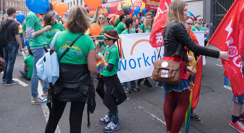 LGBTQ+ PRIDE PARADE 2017 [STEPHENS GREEN BEFORE THE ACTUAL PARADE]-129853