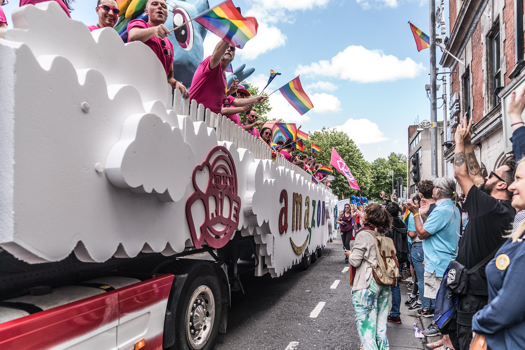 LGBTQ+ PRIDE PARADE 2017 [ON THE WAY FROM STEPHENS GREEN TO SMITHFIELD]-130095