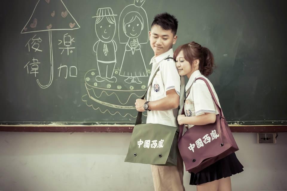 學生制服風婚紗攝影