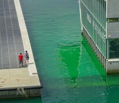 hisser les voiles (travelben) Tags: marseille france couleur mer sea color graphic villa méditerranée architecte italien lines green vert stefano borelli