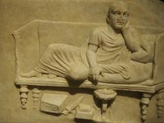 Musée national du Liban (Beyrouth) : Caius Julius Verus fabriquant d'épéé a vécu 70 ans (Bagolina) Tags: mort muséenationalduliban liban beyrouth