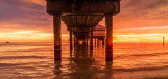 Pier Clearwater (photoserge.com) Tags: pier sunset summer view presets water beach landscape