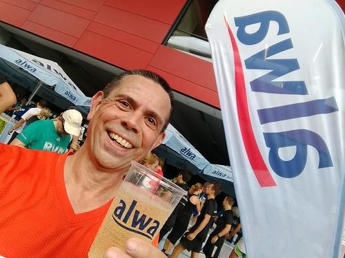 Angekommen! (Halbmarathon, Stuttgartlauf 2017)
