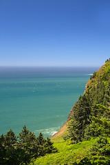 View Along Oregon Coast Highway (Ernie Orr) Tags: bobrussell rmrussell oregon oregoncoasthighway oregoncoasthwy beach oswaldweststatepark