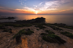 From earth to sea (Francois Le Rumeur) Tags: côte bretonne bretagne nikon hd 4k diben sunset france brittany erosion plage coucher de soleil