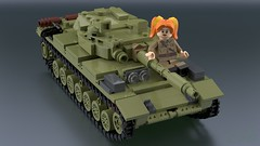 Article 64992 [5] (2che_4life) Tags: ldd lego blender mecabricks tank soviet wot
