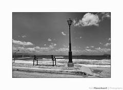 Coast (++Rob++) Tags: greece griekenland zwartwit blackwhite crete kreta sea zee beach strand pacchiaammos