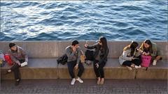 """Sunday People"" Opera House, Sydney, Australia (July 2017) (Kommie) Tags: sydney opera house harbour australia people candid street photography asian tourists woman lady girl fujifilm fujinon xpro2 23mm f14 r winter afternoon"