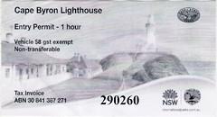 cape byron lighthouse (mudsharkalex) Tags: australia newsouthwales byronbay byronbaynsw capebyron capebyronlight capebyronlighthouse lighthouse faro ticket tickets tix