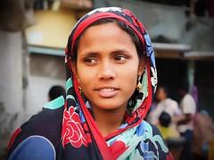 Kolkata - Woman (sharko333) Tags: travel voyage reise street india indien westbengalen kalkutta kolkata কলকাতা asia asie asien people portrait woman olympus em1