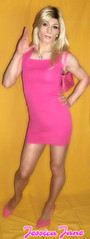 Pretty in Pink (jessicajane9) Tags: tg transgender cd lgbt m2f feminised transvestite trap tgurl crossdress trans gurl tv crossdressing xdress tgirl
