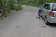 Strassensperre Pont des Anabaptistes West ( GPH Geländepanzerhindernis Panzersperre ) der Sperre - Sperrstelle Pont des Anabaptistes der Grenzbrigade 3 aus dem zweiten Weltkrieg am Chasseral ob Corgémont im Berner Jura im Kanton Bern der Schweiz (chrchr_75) Tags: hurni christoph chrchr chrchr75 chriguhurni chriguhurnibluemailch juli 2017 hurni170708 schweiz suisse switzerland svizzera suissa swiss sammlungkleinesstachelschwein kleinesstachelschwein albumkleinesstachelschweingrenzbrigade3 grenzbrigade3 landesverteidigung brigade frontière
