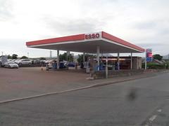 Esso - Dolwar Service Station, Y Ffor, Gwynedd 2 (christopherbarker13) Tags: esso exxon petrolstation garage dolwarservicestation yffor gwynedd