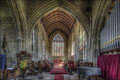 Olney Church Interior 1 (Darwinsgift) Tags: olney bucks buckinghamshire church interior st peter paul nikkor pc e 19mm f4 tilt shift nikon d810 hdr photomatix multiple exposure tripod