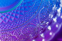 My vibrant salad bowl (simonpe86) Tags: makro glas color vibrant colorful macromondays detail bottom macro rainbow bottomsup