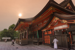 Kyoto, Japan. (nfaraldos) Tags: kyoto kioto japón japan templo angular atardecer nikond7000 santuario sintoismo yasaka de