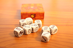 Rory's story cubes (Helen in Wales) Tags: rorysstorycubes game creative writing imaginative ideas