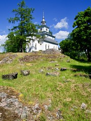 Teijo Church, Finland (m.pertti) Tags: landscape history travel summer teijo salo finland church lutheran protestant
