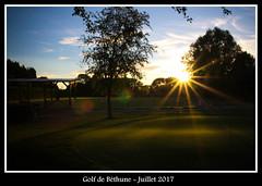 Couché de soleil sur le Golf de Béthune (RémiH) Tags: couchédesoleil f22 paysage couleurdété goldenhour