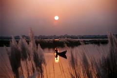 good evening (bimboo.babul) Tags: boatman river sunset evening scenery