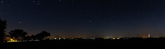 Pano Starlight (Sterling67) Tags: long exposure 2470 predawn silhouette light stars