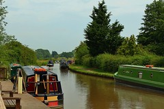 The Shropshire Union Canal (Eddie Crutchley) Tags: europe england cheshire outdoor canal narrowboats shropshireunioncanal simplysuperb