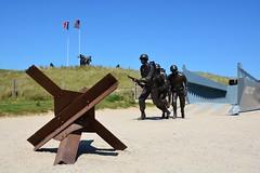 Utah Beach landing site at La Madeleine (Normandie, France 2017)