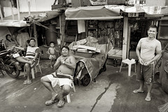 Unemployed _0299 (hkoons) Tags: maritimesoutheastasia southeastasia capital country luzon manila philippines slum abode animal beast cargo cart chariot conveyance home homes horse house housing island islands kalesa pony public residence residential tenants transportation tribe tropical tropics urban village